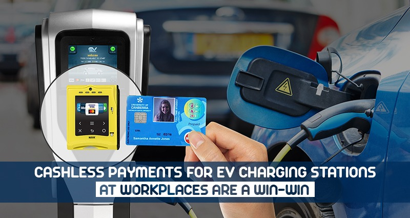 Cashless Payments for EV Charging Stations