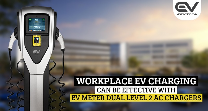 EV Meter Dual Level 2 AC Chargers